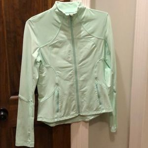 Lululemon Jacket, mint green